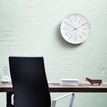 Rosendahl - banquiers AJ mural horloge - ambiance, mur végétalisé