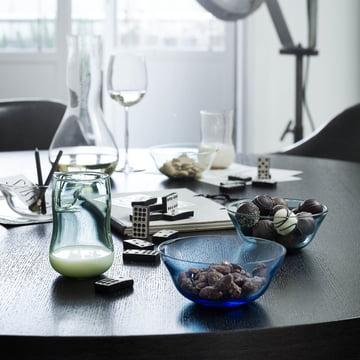 Holmegaard - Future - Verres, verre à vin, carafe, raviers