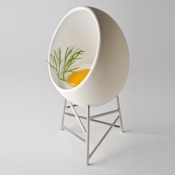 Alessi - Le Nid - avec œuf cru