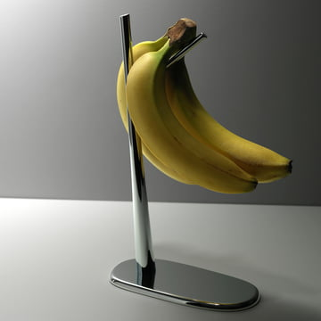 Alessi - Porte-bananes Dear Charlie - avec bananes
