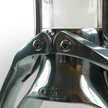 La machine à expresso de ROK en détail