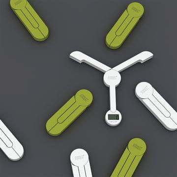 Joseph Joseph - Balance pliable TriScale, vert, blanc - groupe