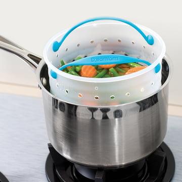 Dreamfarm - Panier vapeur Vebo, petit - casserole