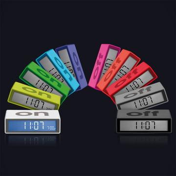 Lexon - Flip LCD-Réveils - Groupe, coloris