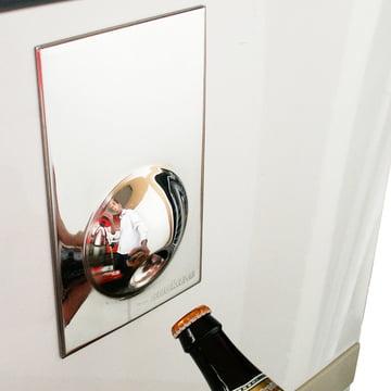 Suck UK - Décapsuleur Fridge Magnet, argenté - sur le réfrigérateur