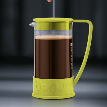 Bodum - Cafetière à piston Brazil, 1,0 l, citron vert - préparation 3