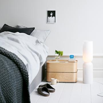 Iittala, Lantern lampe / image d'ambiance - à côté du lit