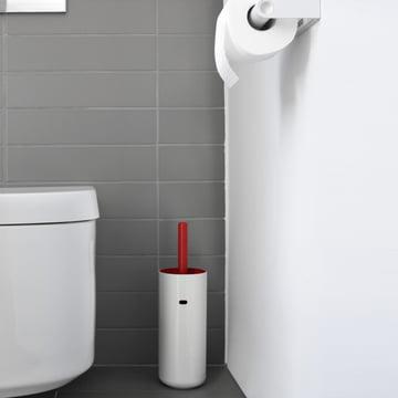 Authentics - Lunar brosse WC, rouge