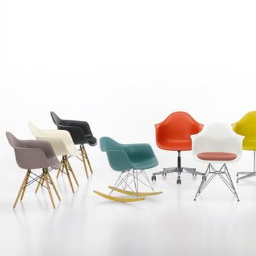 Vitra - Eames Plastic Armchairs, image de groupe