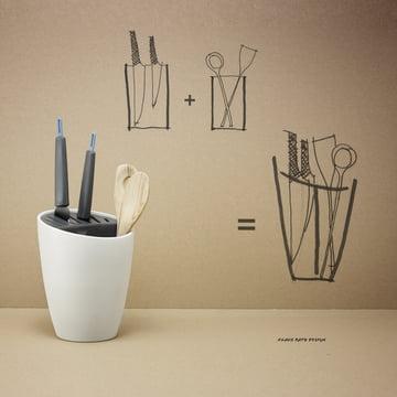 Rig-Tig by Stelton - Organise, blanc/gris