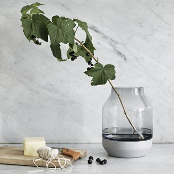 Muuto - Elevated Vase, ambiance gris