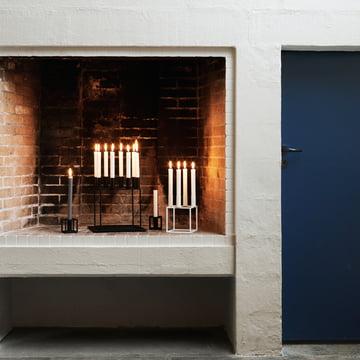 Le by Lassen - Bougeoir Kubus en atmosphère cheminée