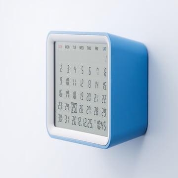 Mondo - Calendrier Date , bleu / blanc - mur