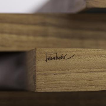 ArchitectMade - Plateau Turning Tray - détail de la signature