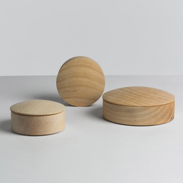 Hay - Lens Box / couvercle, érable - groupe