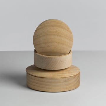 Hay - Lens Box / couvercle, érable - empilé