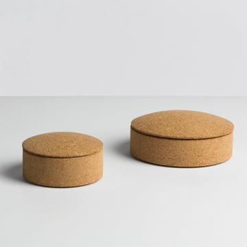 Hay - Lens Box / couvercle, liège - tailles