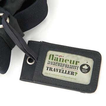Moleskine - Sac Messenger myCloud - Étiquette à bagage