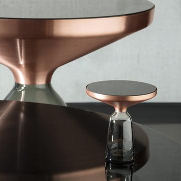 ClassiCon - Table d'appoint Bell miniature, gris quartz