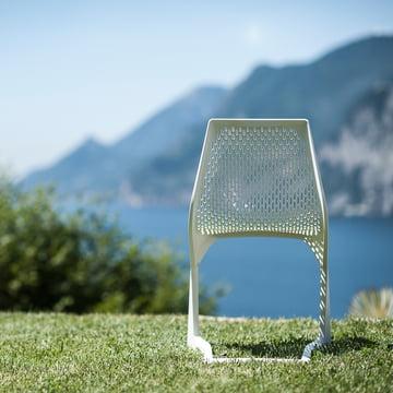 Plank - Myto Chaise, extérieur, blanc