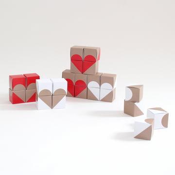 Snug.Studio - Calendrier de l'Avent snug.boxes, cœurs décoratifs