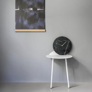 Menu - Mellem Rahmen, Marble Horloge murale