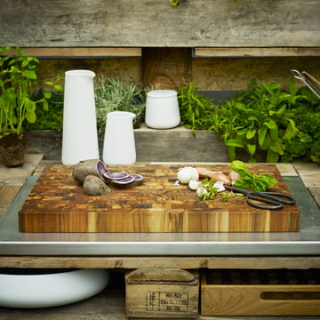Skagerak - Planche à découper, bois de teck