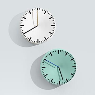 Hay - horloge Analog, mint, blanc
