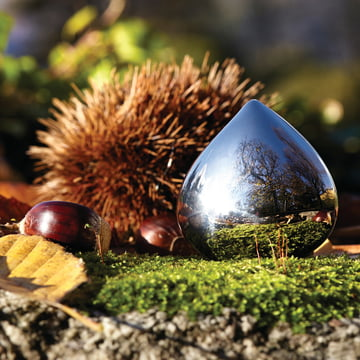 Alessi - Pilulier Chestnut, acier inoxydable