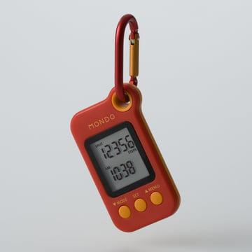 Mondo - Podomètre Step, 3D-Sensor (DP01), rouge
