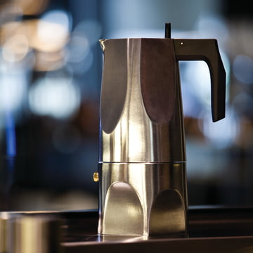 Alessi - cafetière expresso Ossidiana MT18/1