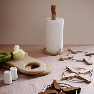 Skagerak crée une ambiance nordique dans la cuisine.