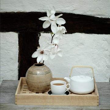 Cérémonie de thé de style nordique