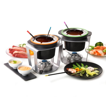Lot de 2 Fondue Fun de Stöckli