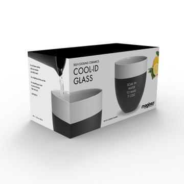 Magisso - Cool-ID Verre à eau (set de 2) emballage