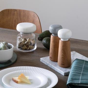 Collection de Hammershøi avec un design de rainures
