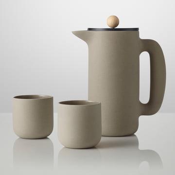 Muuto - Push cafetière, Push gobelet, gris pierre