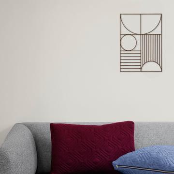 Lignes épurées de ferm Living - Design pour salon