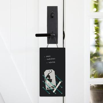 ThreeByThree - Tableau noir Kanga doté d'élastiques en caoutchouc