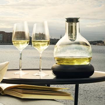 Solo de Eva - carafe à décanter avec refroidisseur à vin 0,75 l