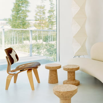 Vitra - Tabouret - Cork Family - Chaise Plywood