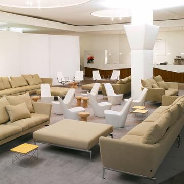 Les meubels Vitra pour la salle de séjour