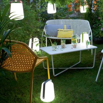 Lampe Fermob LED rechargeable: Très souple et facile à transporter