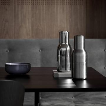 Menu - Moulin à sel et à poivre Bottle acier inoxydable
