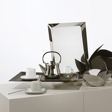 Ovale et Cha pour thé par Alessi