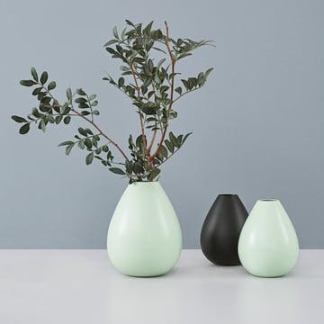Design Letters - Vase AJ Royal Vintage, vert/noir