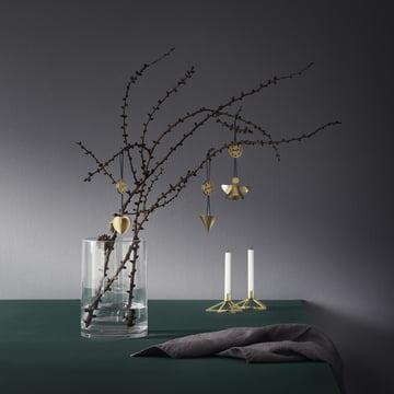 Bougeoir Tangle étoile avec bijoux de décoration Nordic