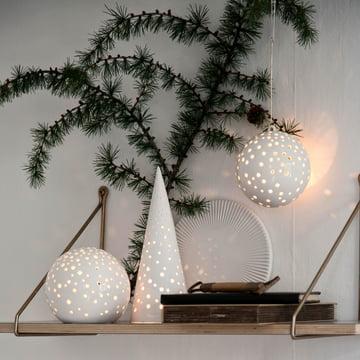Photophore pour bougie chauffe-plat Nobili de Kähler Design