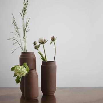 Vase Edge de Skagerak en terre cuite