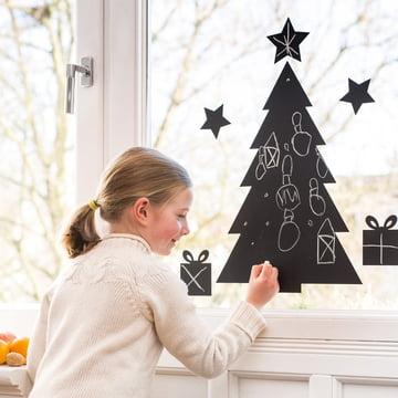 Chalkboard Christmas Tree pour décorer